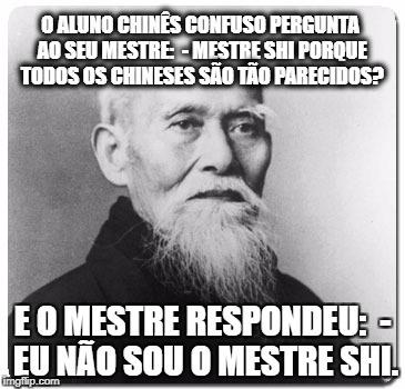 Conselhos do Mestre Shi - meme