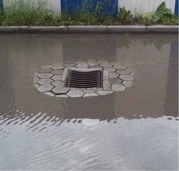 F*ckin drain you had one job - meme