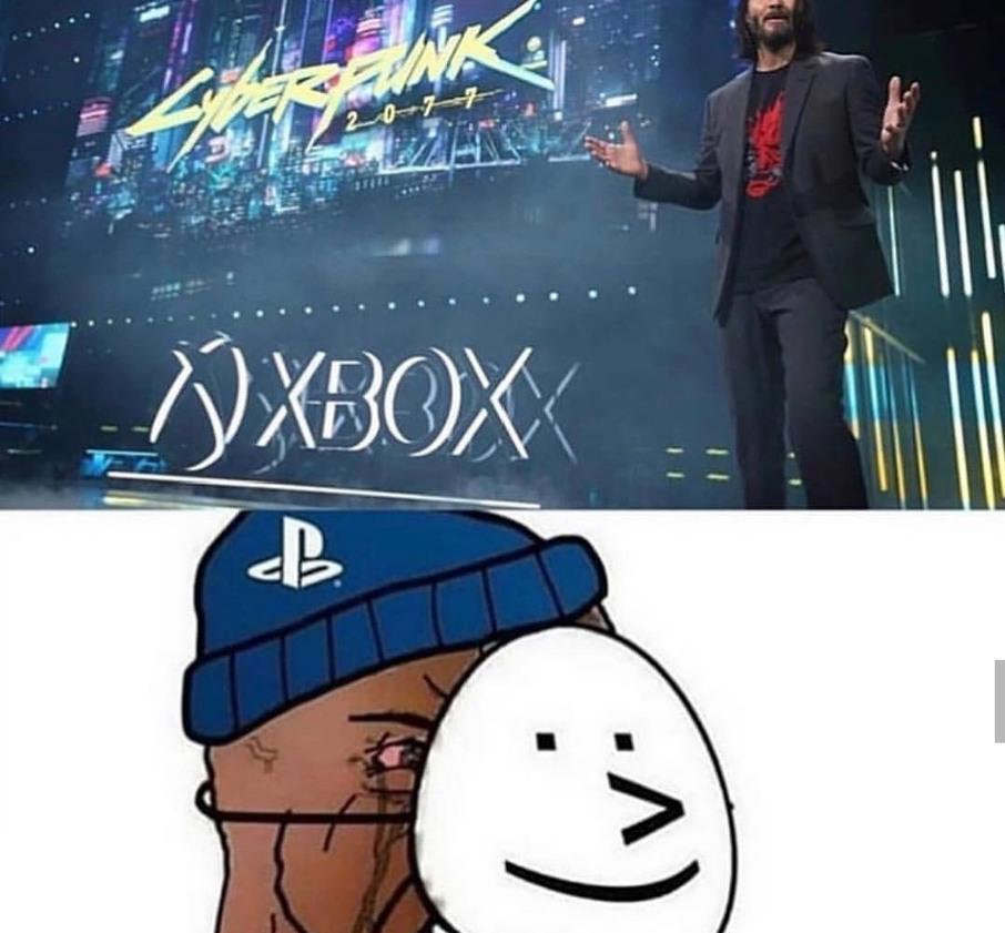 Xbox 1 PS4 0 - meme