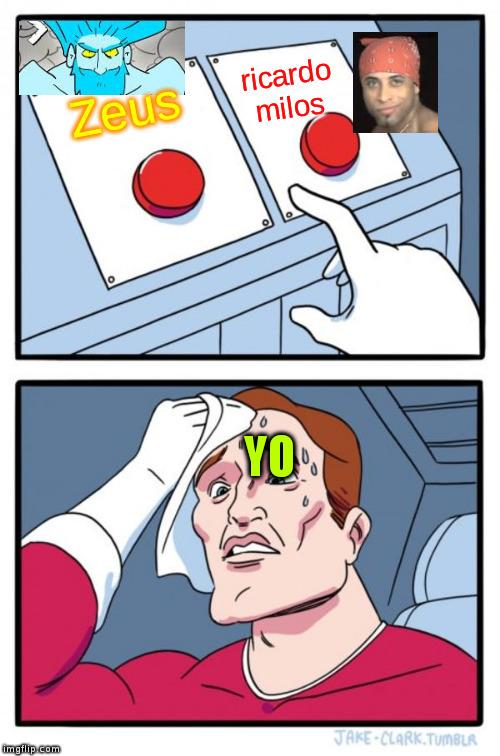 zeus vs ricardo milos - meme