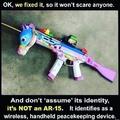 guns bad