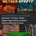 A cave update tá demorando, por que a mojang tá trabalhando em um jogo inteiro nisso