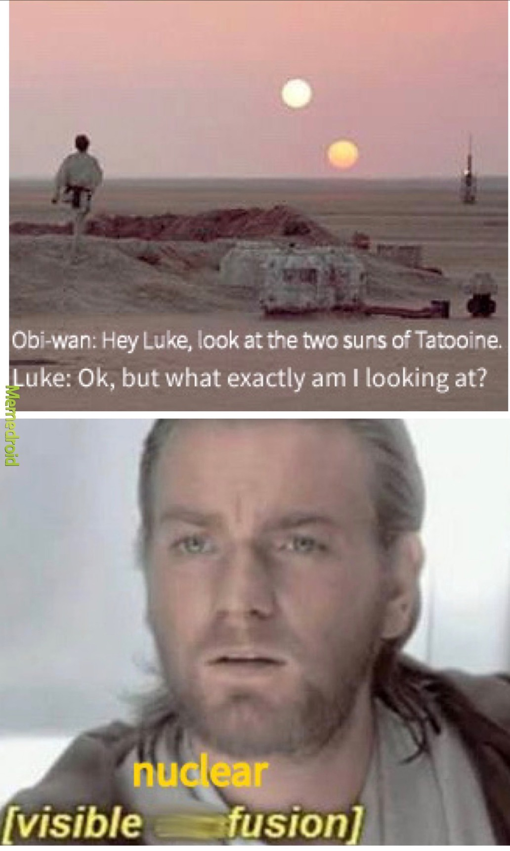 Star Wars Science Lesson - meme
