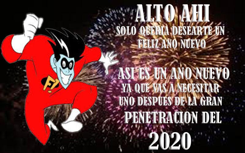 Feliz Año Nuevo 2020 - meme