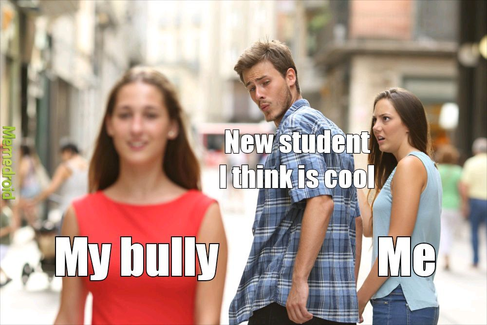 New student - meme