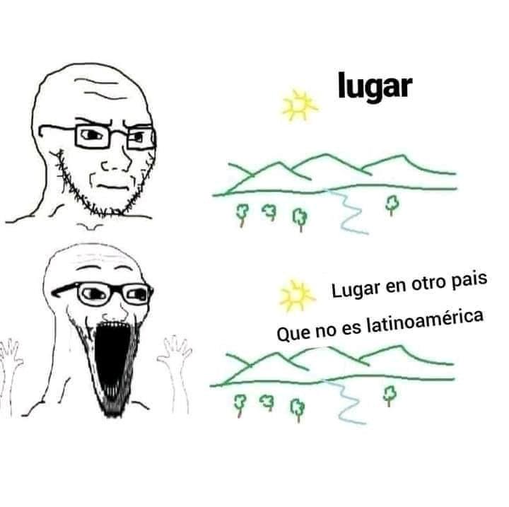 Latinoamericana bad - meme