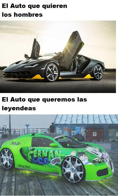 el mejor carro del universo epico!!!! - meme