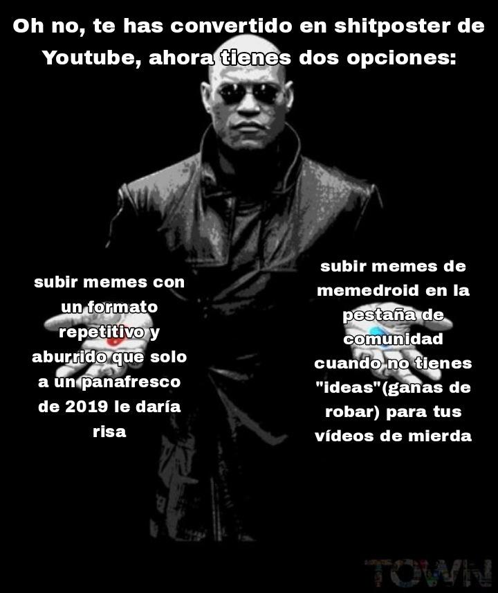 Cacaposters be like(novagarka del orto, ya quítame el muteo) - meme