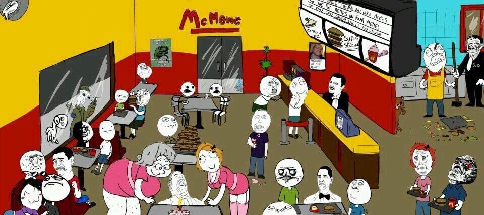 bienvenue au McMeme