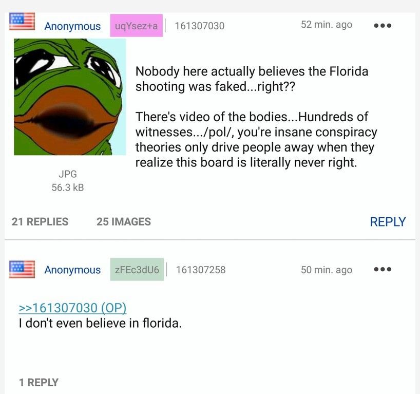 Florida is a conspiracy made up by the Jews to start 9/11 - meme