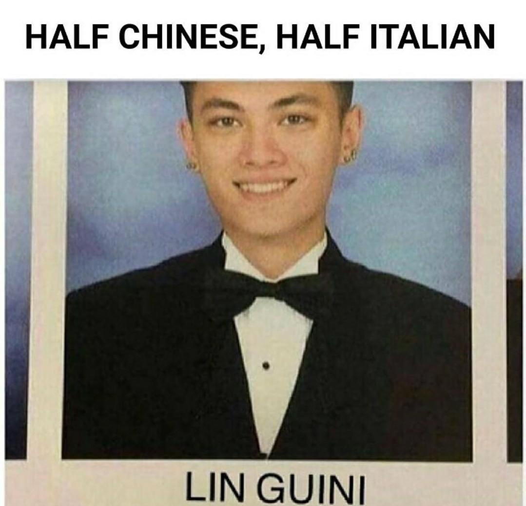 It's me Linguini! No stop Mario! He's an impasta - meme