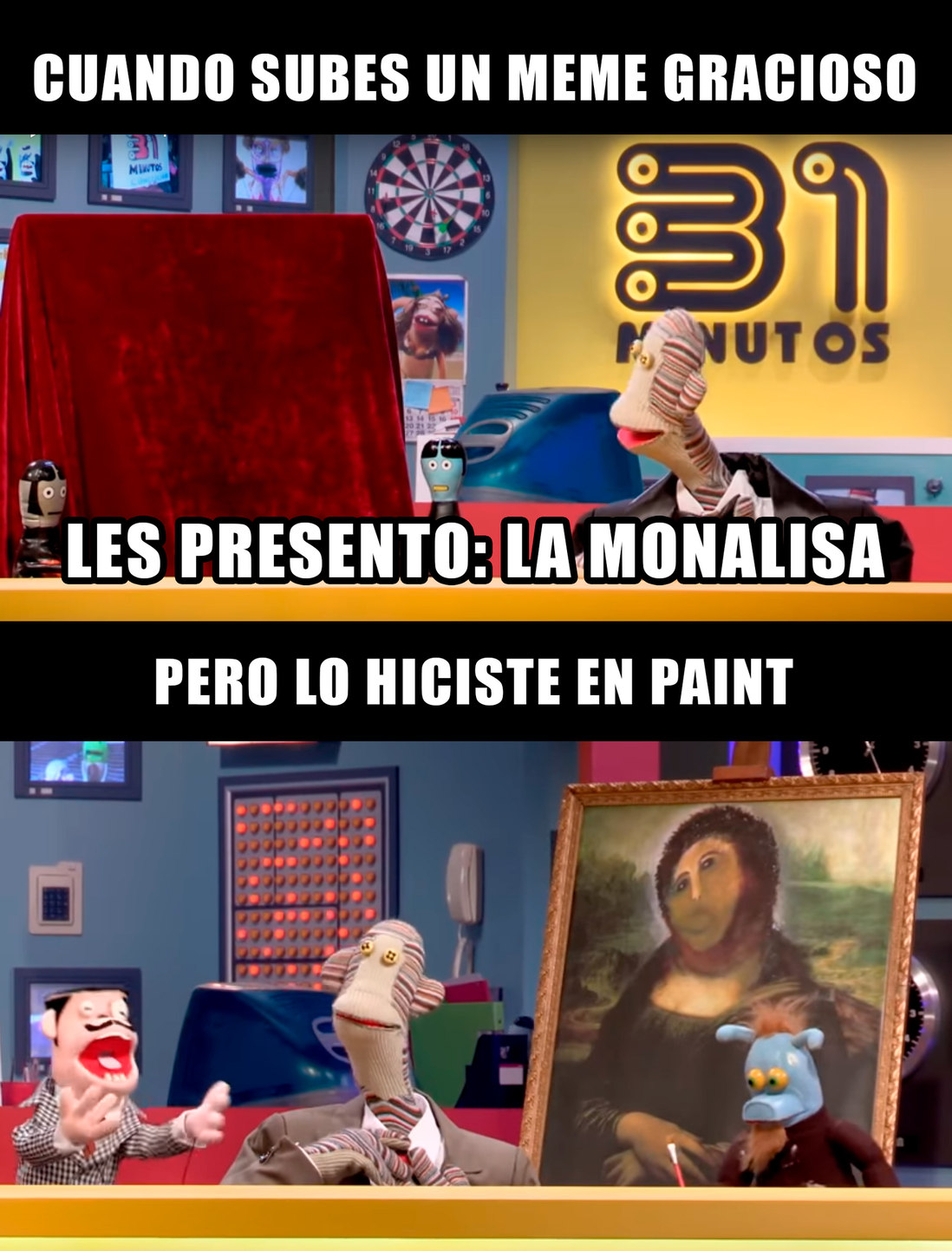 La Mona Lisa - meme