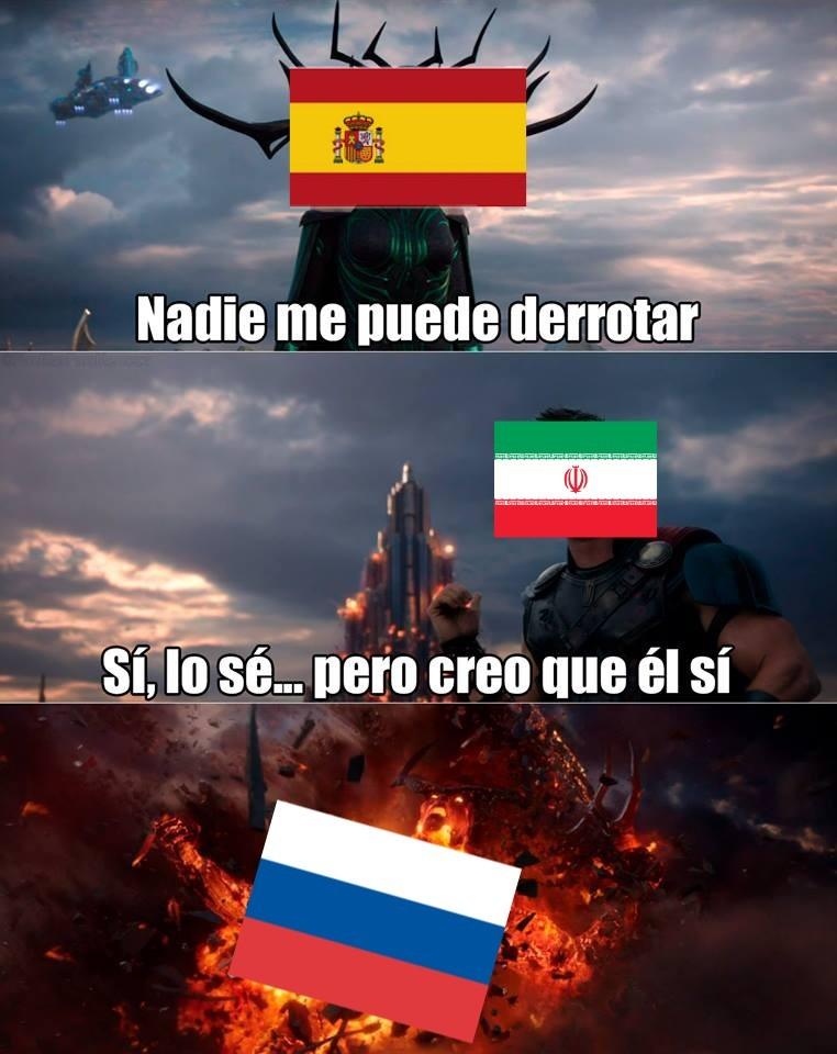 Adios España - meme