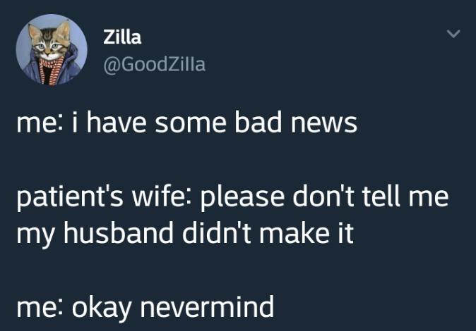 bad news - meme