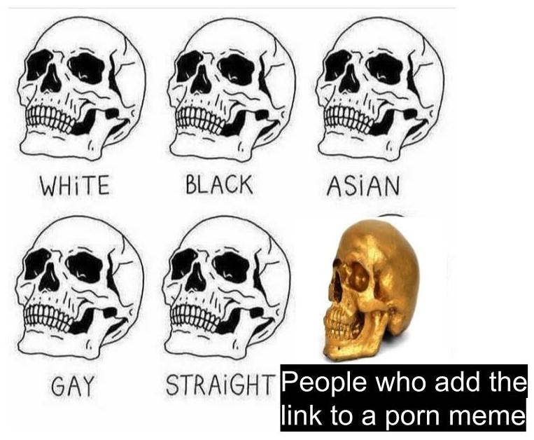 Skulls - meme