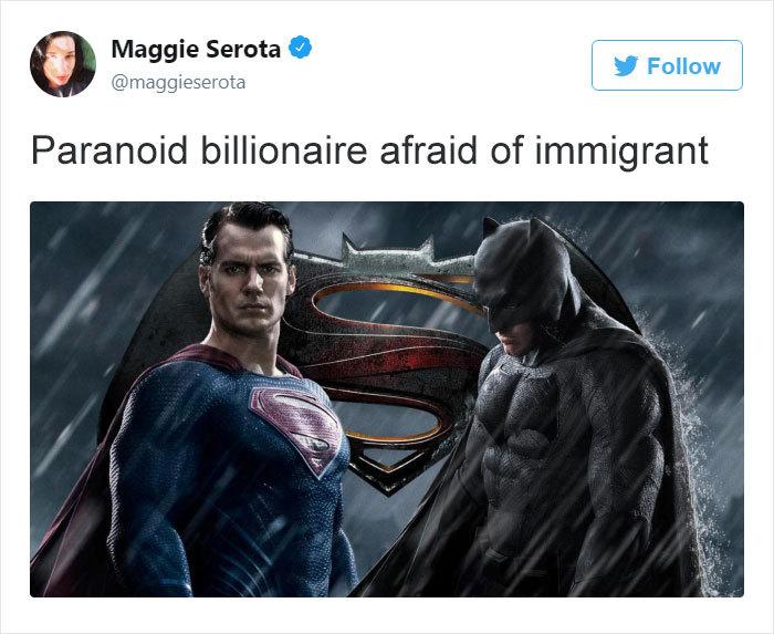 Batman = Trump - meme