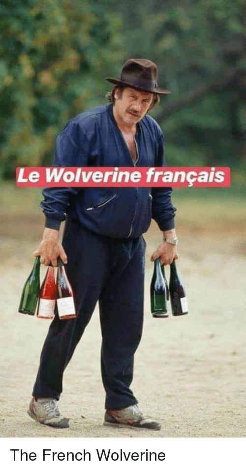Depardieu est un X Main - meme