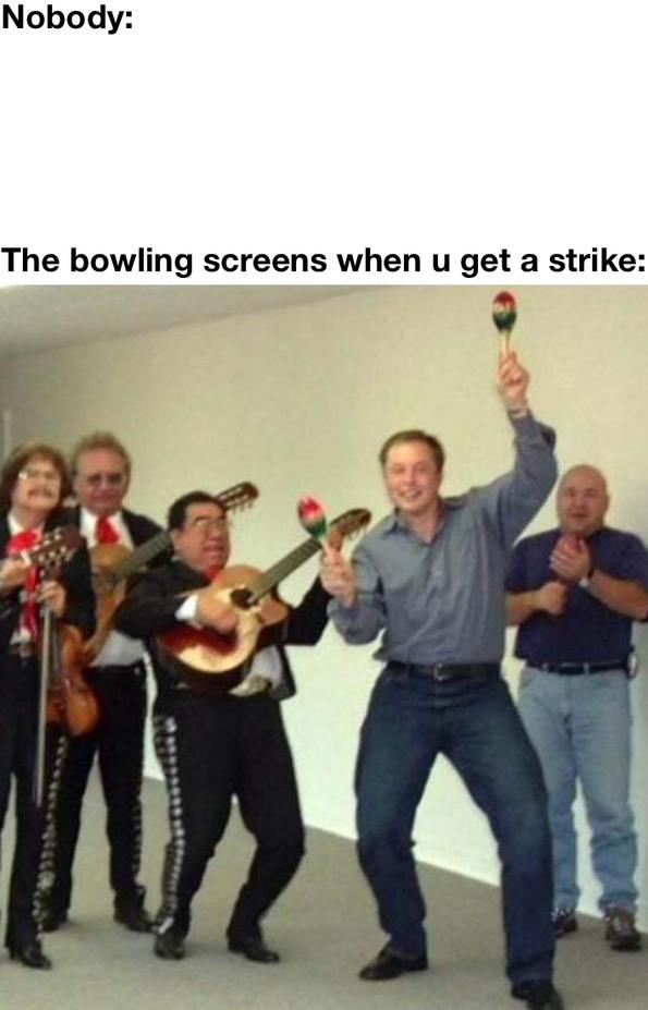 Bowling - meme