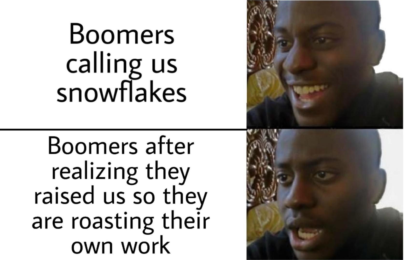 Some Boomer, man - meme