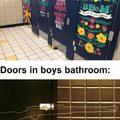Bathroom doors | gagbee.com