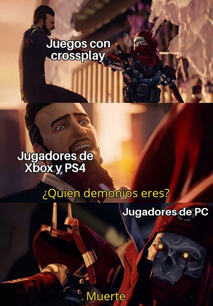 Odio los de PC - meme