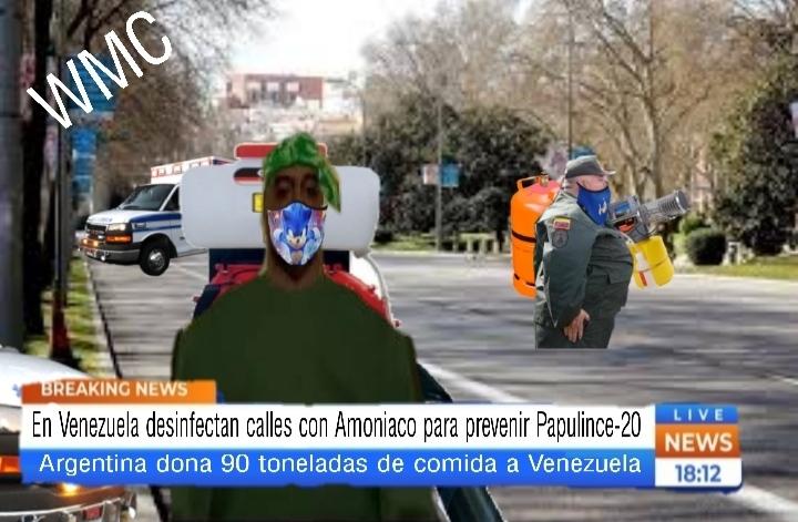 En Colombia, Venezuela, Honduras y Uruguay decretan cuarentena - meme