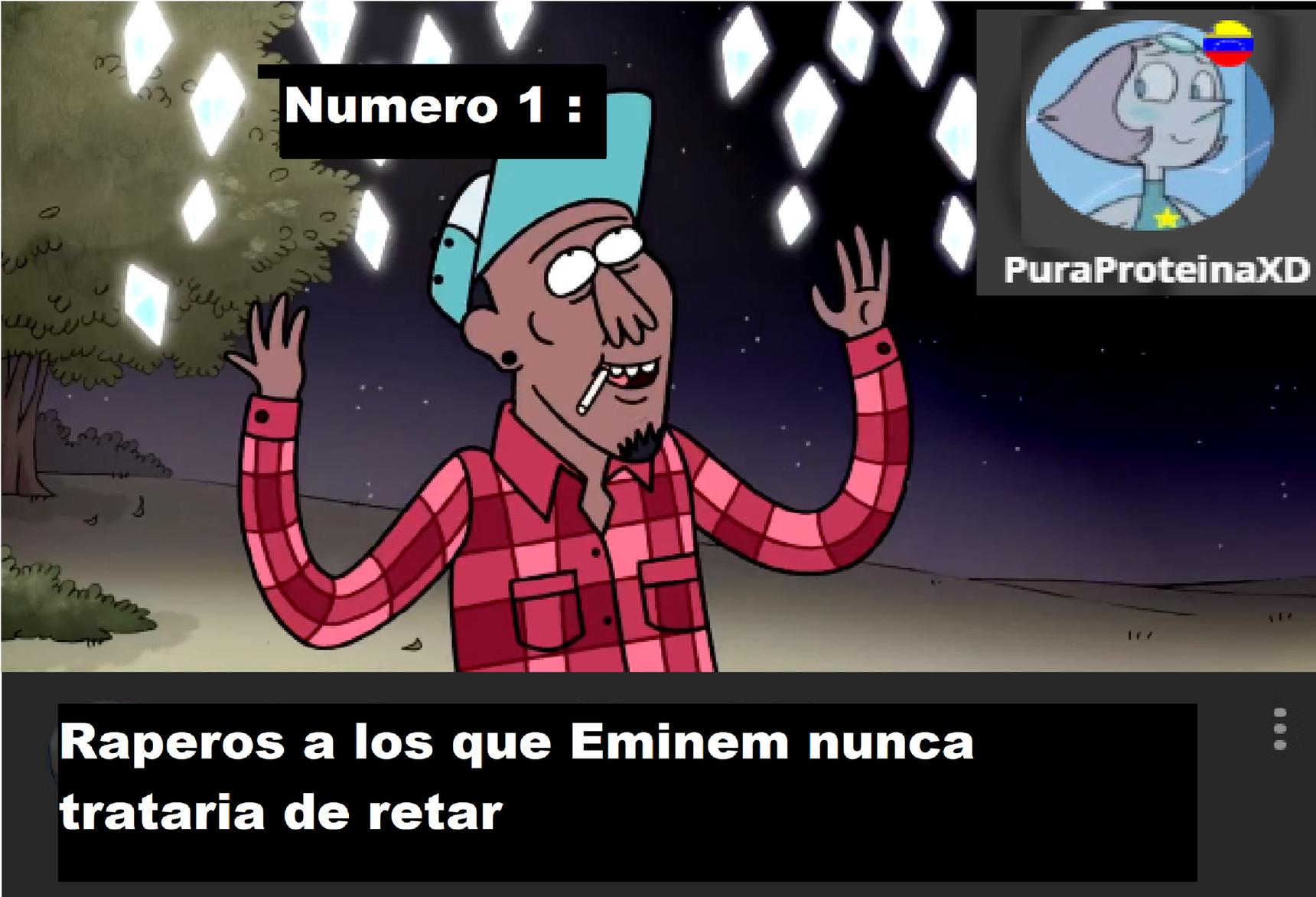 Eminem debe estar temblando cerca de este rapero, Ya que tiene un Flow Maestro. - meme