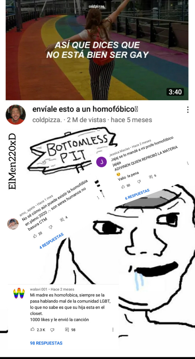 A cagar ese video - meme
