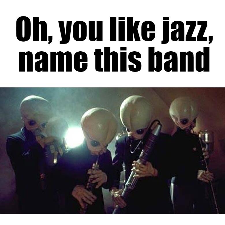 Cantina Band - meme