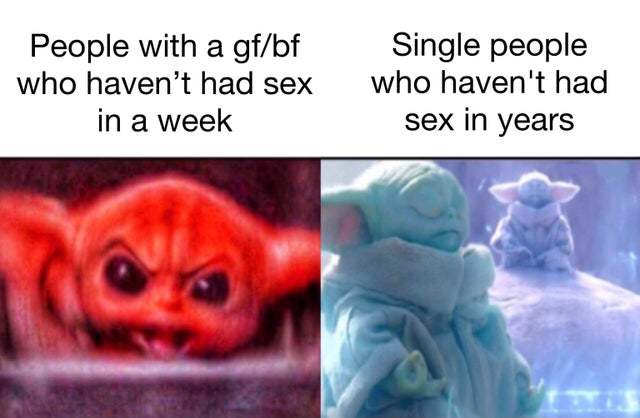Haven't had sex in a couple months - meme