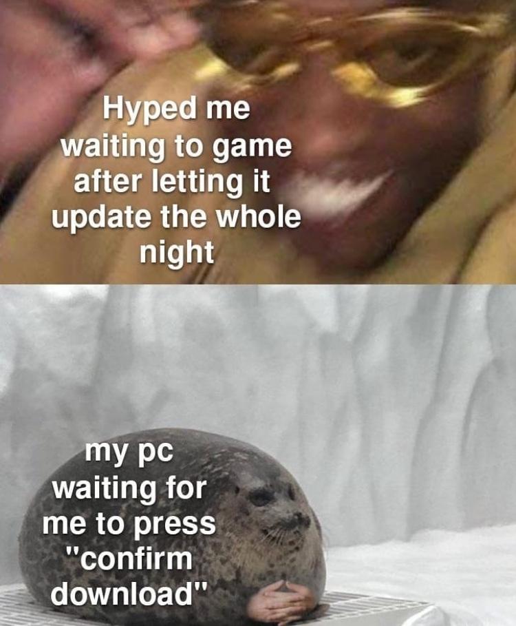 I'm waiting - meme