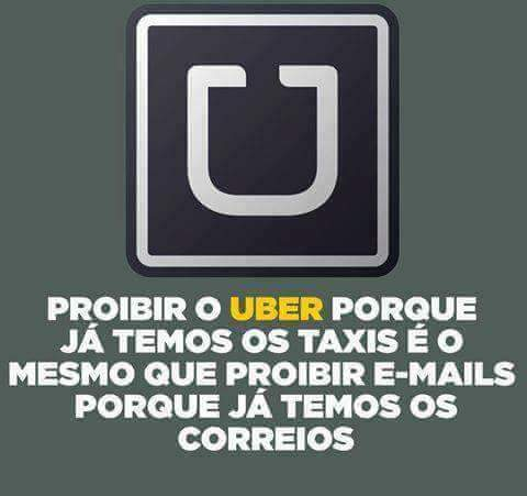 Vai de Uber - meme