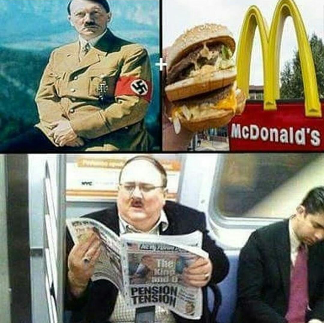 Hitler Donald's - meme