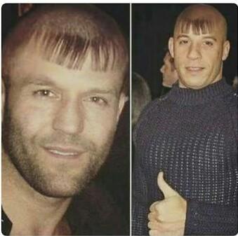 Akele corte de cabelo que vc respeita - meme