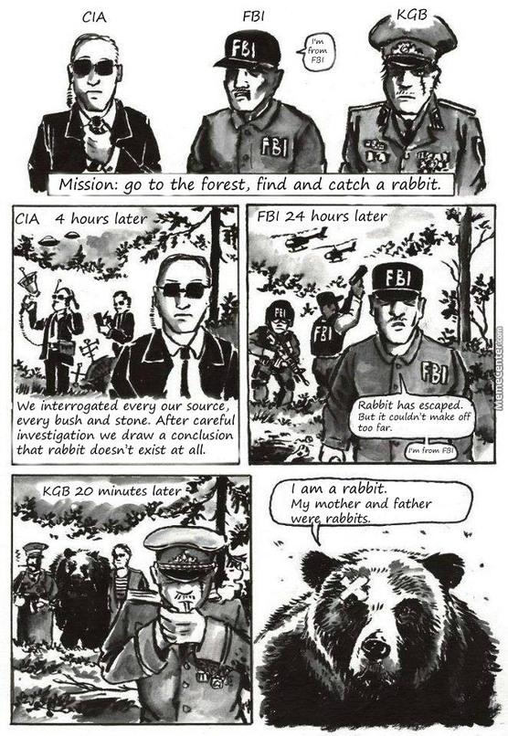 The KGB - meme