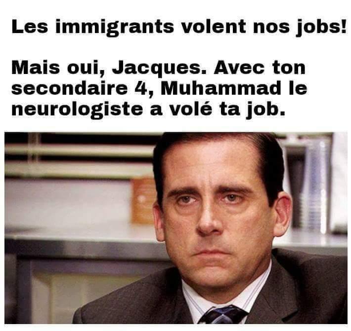 Immigrants - meme
