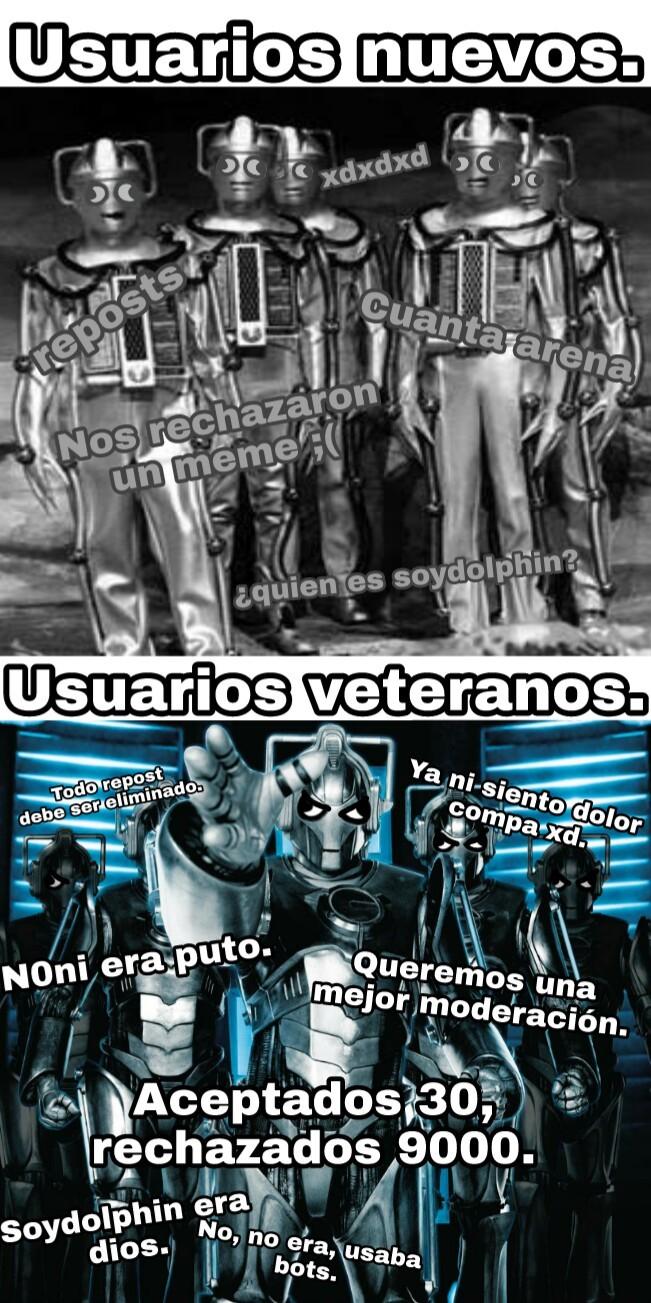 Cybermen. - meme