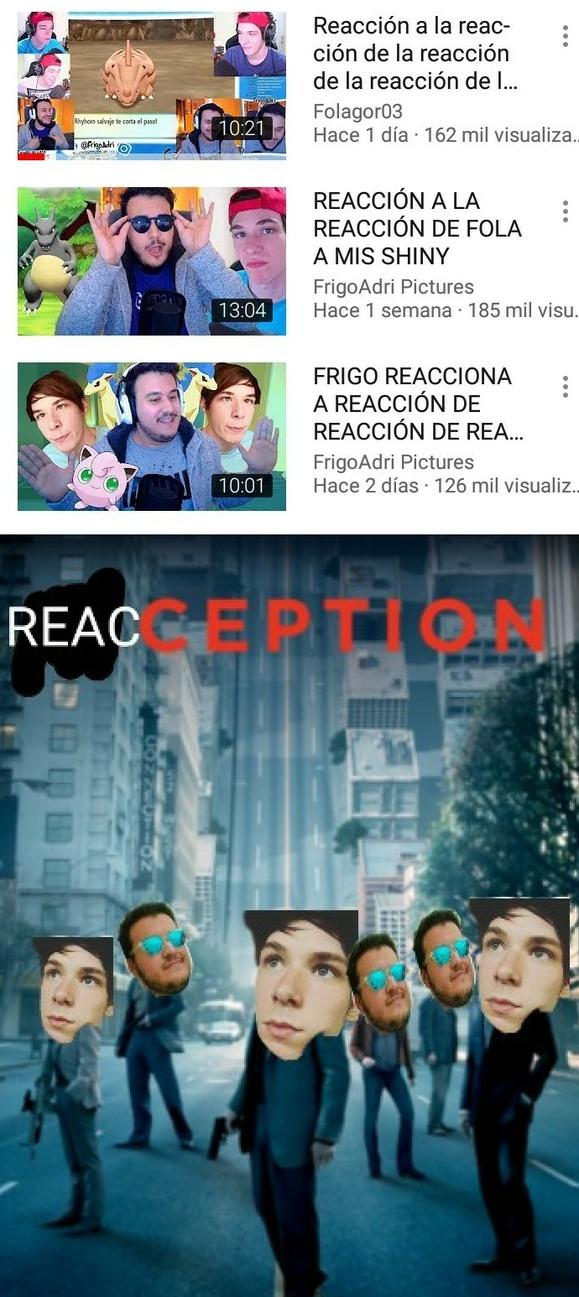 Reacciones infinitas, problem? - meme