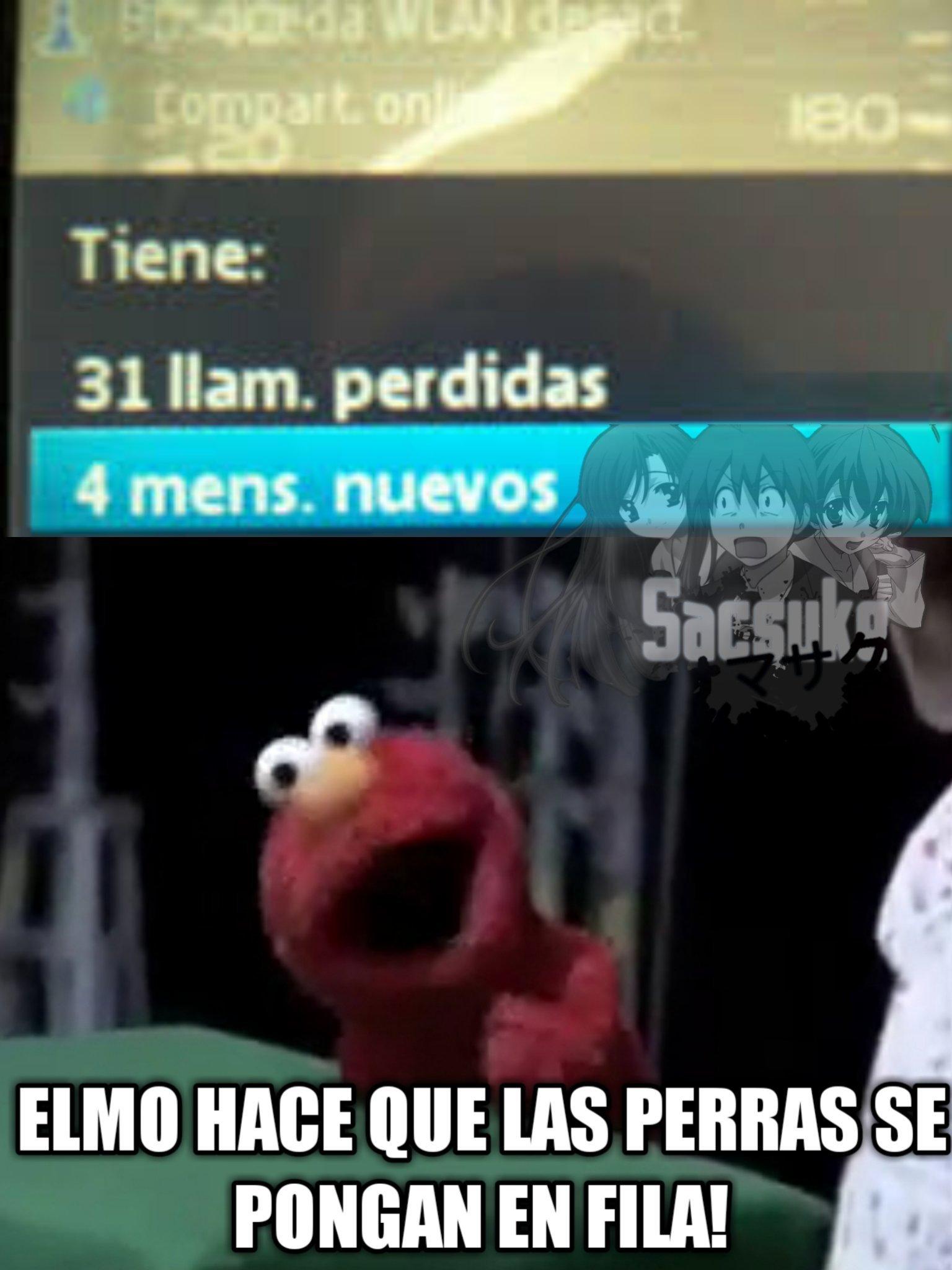 MOMO DE ELMO - meme