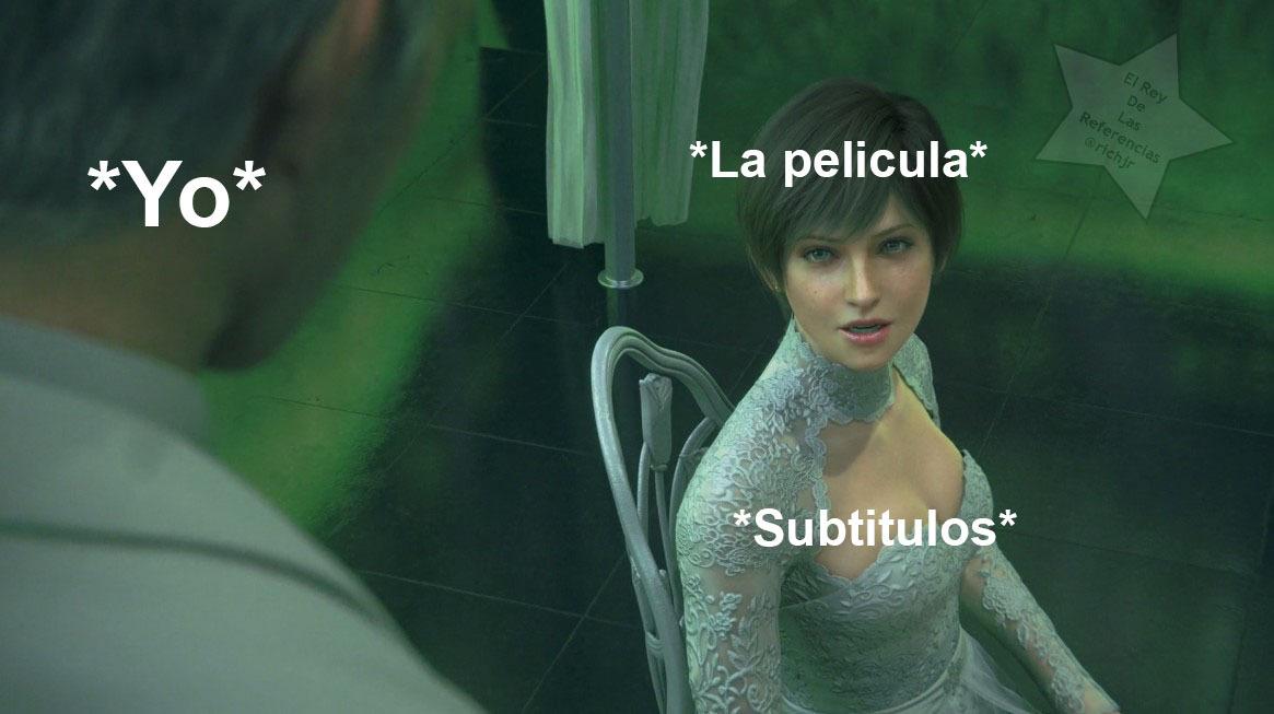 Resident Evil: Vendetta XD - meme