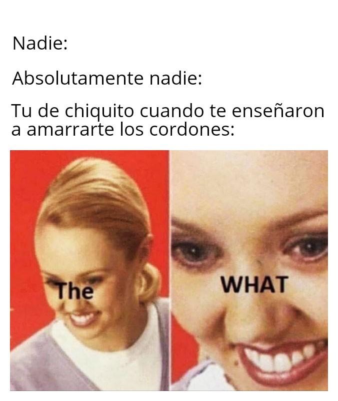 Cordones - meme