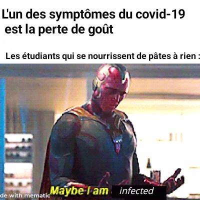 Peut-être suis-je infecté - meme
