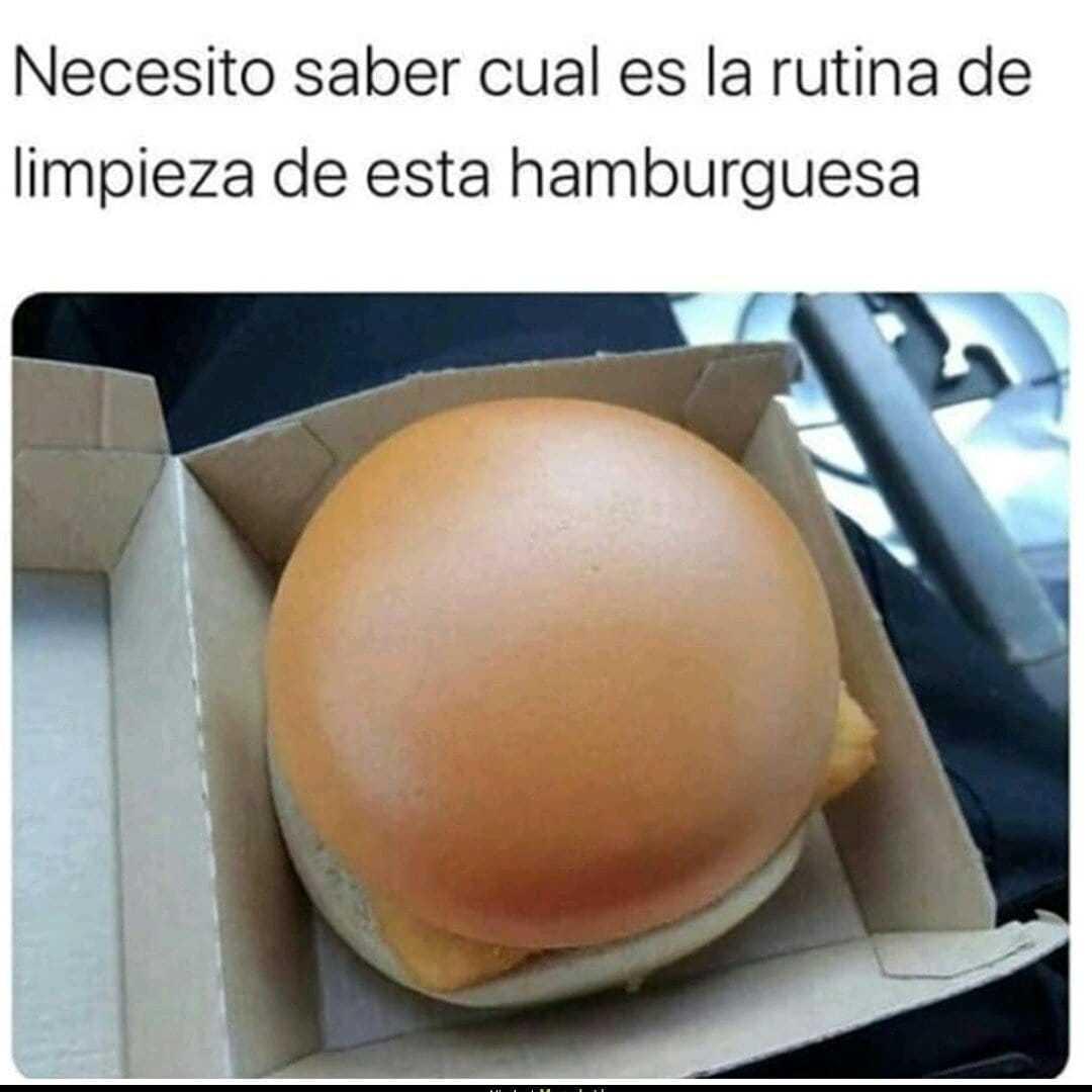 Hamburguesa hamburguesa - meme