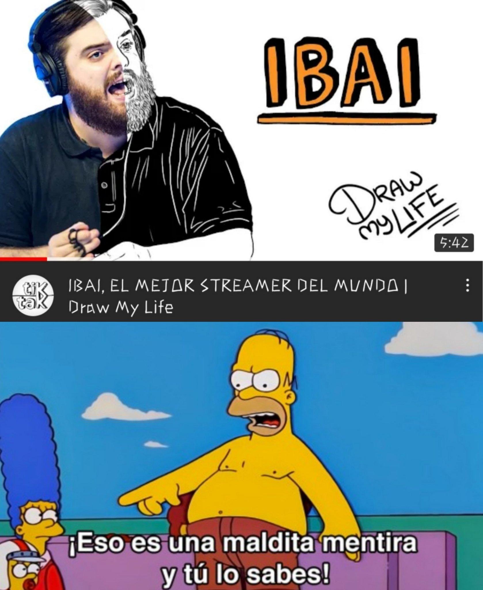 Ibai el mejor streamer xd - meme