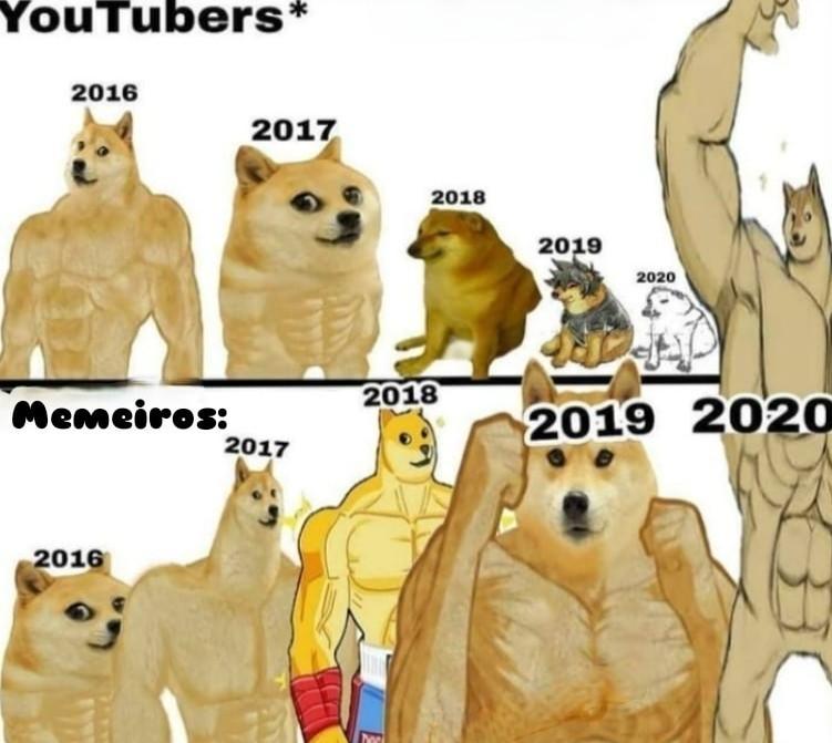 Memeiro vs youtubers