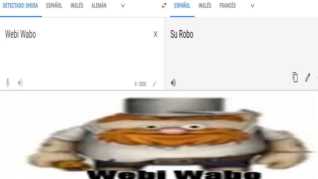 Webi Wabo - meme