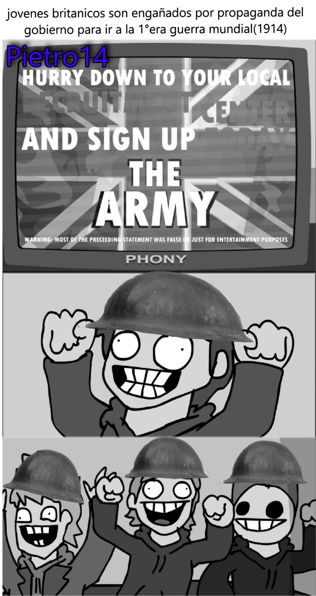 propaganda mentirosa - meme