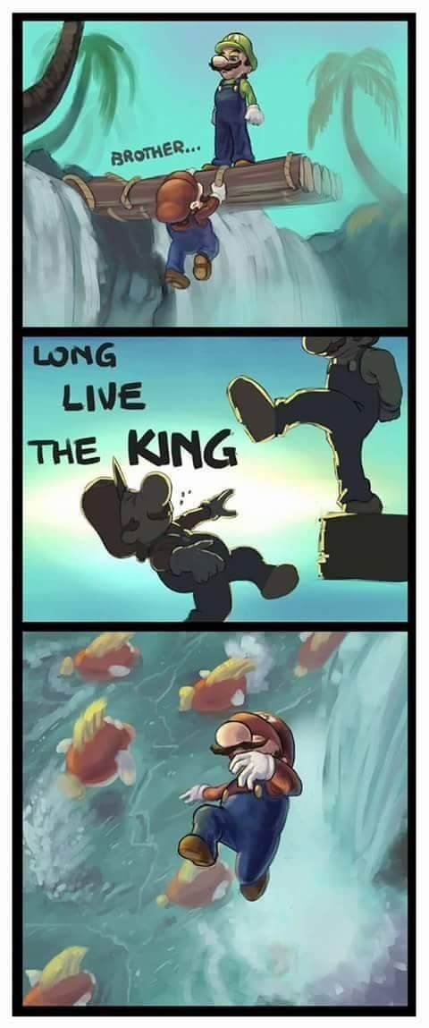Long Live The King - meme