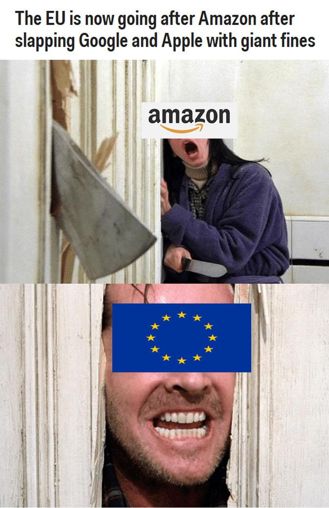 Here's Europe! - meme