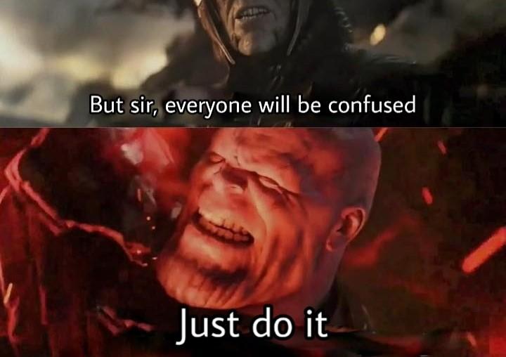 Never you betray - meme